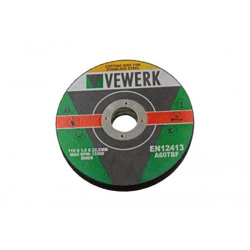 10vnt Metalo diskų 115 x...