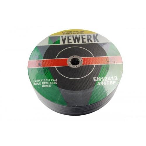 25vnt Metalo diskų 230 x 2...